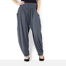 Join Clothes Side Pocket Drape Front Trouser