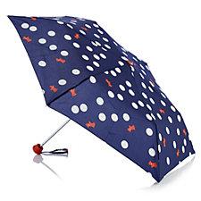Radley London Polka Dog Mini Telescopic Umbrella