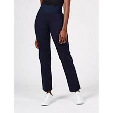 Nygard Slims Straight Leg Pull-On Trousers