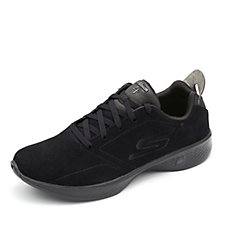 Skechers GOwalk 4 Suede Lace Up Trainer