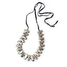 MarlaWynne Beaded Bullet Necklace