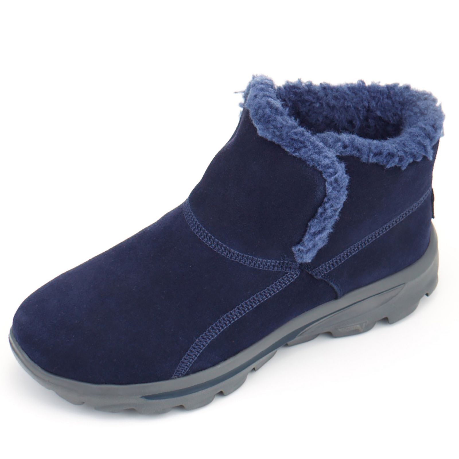 sketchers toddler boots. skechers on the go chugga suede ankle boot with memory foam - page 1 qvc uk sketchers toddler boots