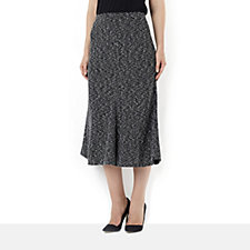 Kim & Co Boucle 4 Panel Fluted Skirt