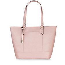 Tignanello Bowery Saffiano Convertible Shopper Tote Bag