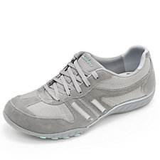 Skechers Breathe Easy Jackpot Lace Up Trainer with Memory Foam
