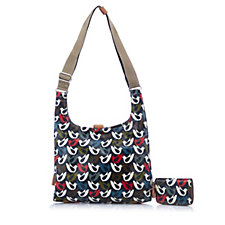 Orla Kiely Midi Sling Bag with Zip Purse