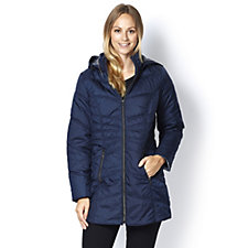 Centigrade Quilted Jacket with Zip Pocket Detail