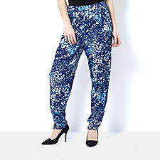 Grace Abstract Print Elasticated Pull on Trouser