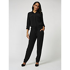 Attitudes by Renee Cargo Jumpsuit