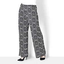 Filigree Print Jersey Trouser by Michele Hope