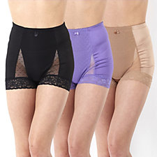 Rhonda Shear 'Shear Control' Lace Briefs 3 Pack