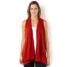 Kim & Co Mirage Knit Edge to Edge Duster Waistcoat