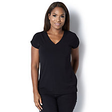 Ruched Shoulder Top by Michele Hope