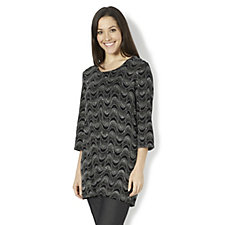 Dazzle Glitter Tunic by Michele Hope
