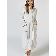 Cozee Home Velvet Soft Waffle Dressing Gown