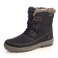 Skechers Woodland Dry Quest Mid Lace Up Boot with Faux Fur Trim