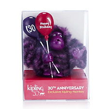 Kipling Happy 30th Anniversary Collectable Monkey in Gift Box