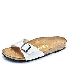 Birkenstock Madrid Adjustable Strap Patent Sandal