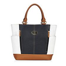 Tignanelleo Pebble Leather Shopper Tote Bag