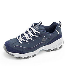 Skechers Sports D'Lites Me Time Lace Up Trainer with Memory Foam