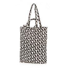 Orla Kiely Baby Bunny Packaway Tote Shopping Bag