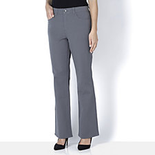 H by Halston Stretch Full Length 5 Pocket Bootcut Trousers