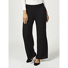 Anybody Brushed Hacci Wide Leg Ankle Trousers