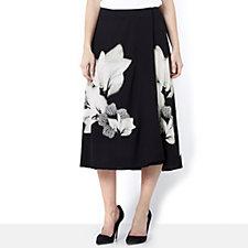 Butler & Wilson Flower Print Skirt