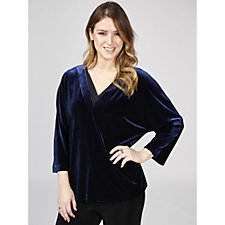 Ronen Chen Dolman Sleeve Teddy Top
