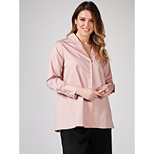 MarlaWynne Stretch Poplin Shirt