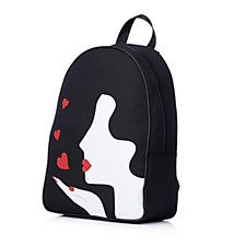 Lulu Guinness Kissing Cameo Girl Backpack