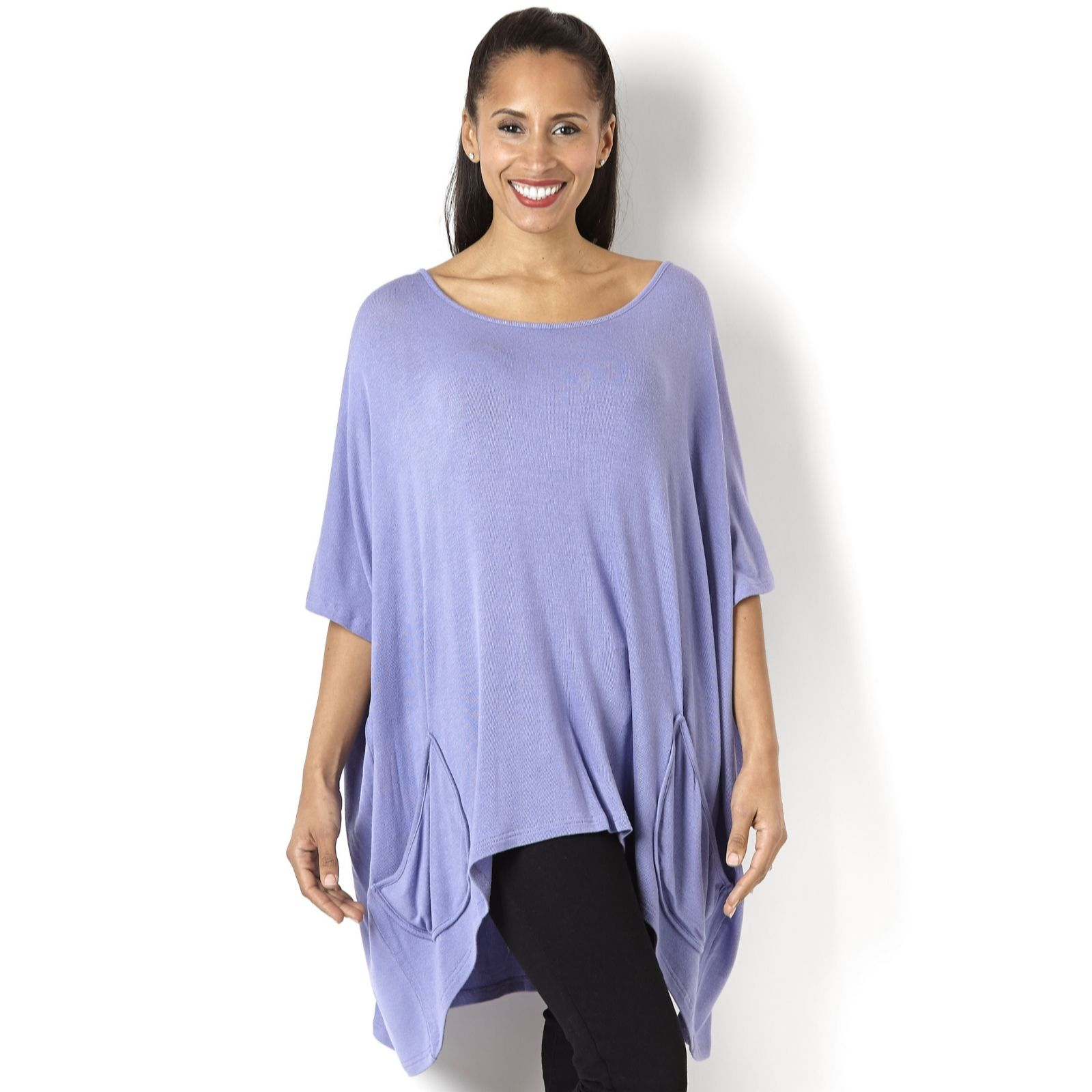 Join Clothes Patch Pocket Detail Oversize Tunic