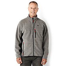 Trespass Men's Zip Through Fleece with Contrast Panels