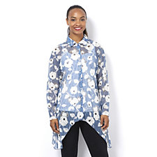 Wild Rose Lace Shirt by Michele Hope