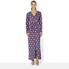 Ryan Long Sleeve Maxi Dress by Onjenu London