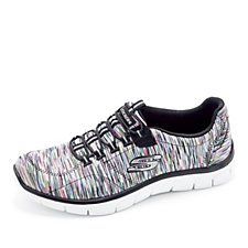 Skechers Empire Game On Metallic Space Dye Bungee Slip On Trainer