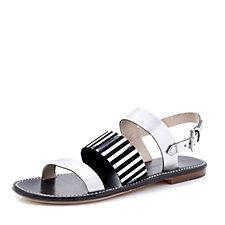 Peter Kaiser Metallic Flat Sandal