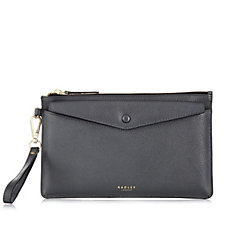 Radley London Star Gazer Large Leather Clutch Removable Purse