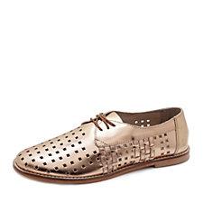 Emu Lavinia Leather Cutout Lace Up Shoe