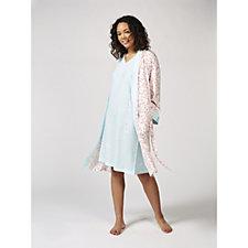Carole Hochman Dressing Gown & Nightdress Set