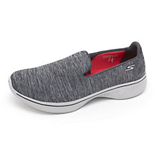 Skechers GOwalk 4 Achiever Heathered Mesh Slip On Shoe