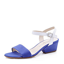 Peter Kaiser Two Tone Sandal with Ankle Strap