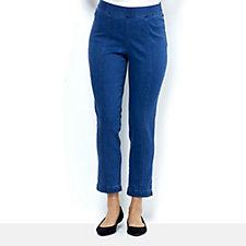 C. Wonder Ankle Length Slim Leg Pull On Trousers Regular