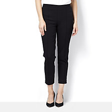 165567 - Isaac Mizrahi Live 24/7 Stretch Ankle Length Trousers, Regular