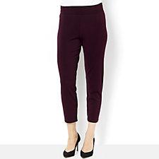 Kim & Co Stretch Crepe Petite Slim Trouser