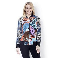 Nick Verreos Printed Jersey Jacket