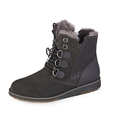 Emu Sussex Lo Merino Wool Lace Up Boots