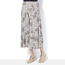 Chelsea Muse by Christopher Fink Printed Gaucho Trousers