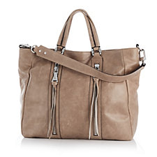 Aimee Kestenberg Farah Vintage Leather Convertible Tote & Shoulder Strap