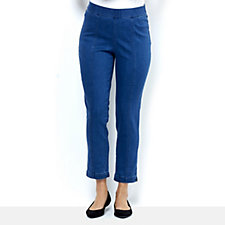 C. Wonder Ankle Length Slim Leg Pull On Trousers Petite